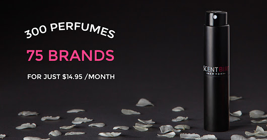 Get New Perfume Every Month for 14.95/Month