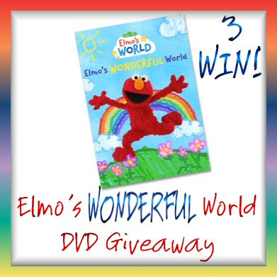 Elmos Wonderful World Giveaway. Ends 8/14