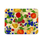 McGowan TT00441 Tuftop Fruit Collage Cutting Board- Small