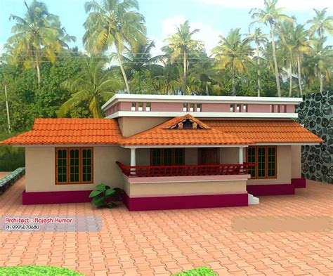 single storey budget house design  plan   sqft