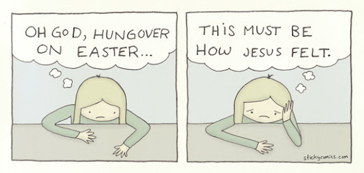 Hungover on Easter