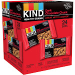 Kind Healthy Grains Bars, Dark Chocolate Chunk - 24 count, 1.2 oz each