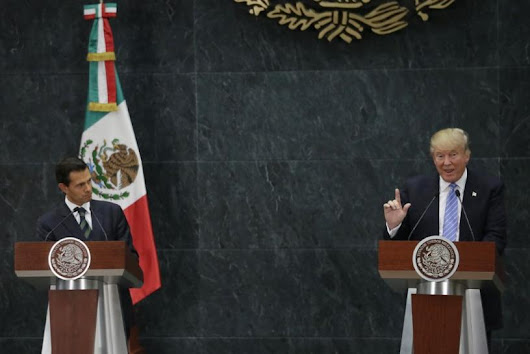 Mexico says Trump-Pena Nieto meet unlikely to lead to big deals