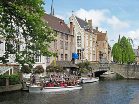 Travel Europe - Visit Bruges Belgium