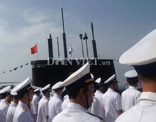 tàu ngầm, hải quân, quốc phòng, Cam Ranh, chủ quyền, Biển Đông
