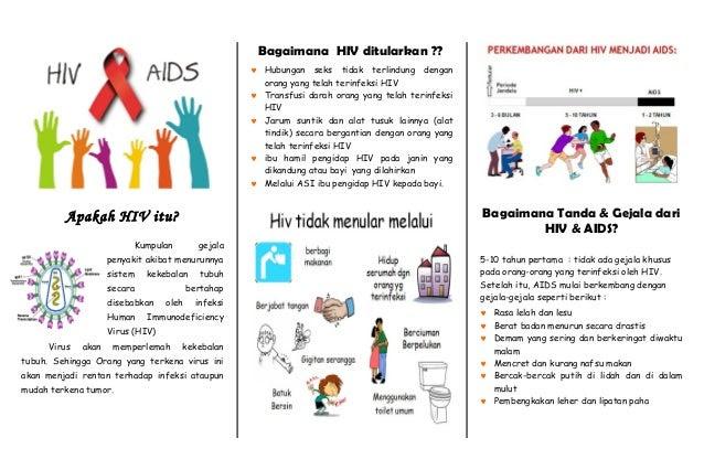 Leaflet hiv aids s