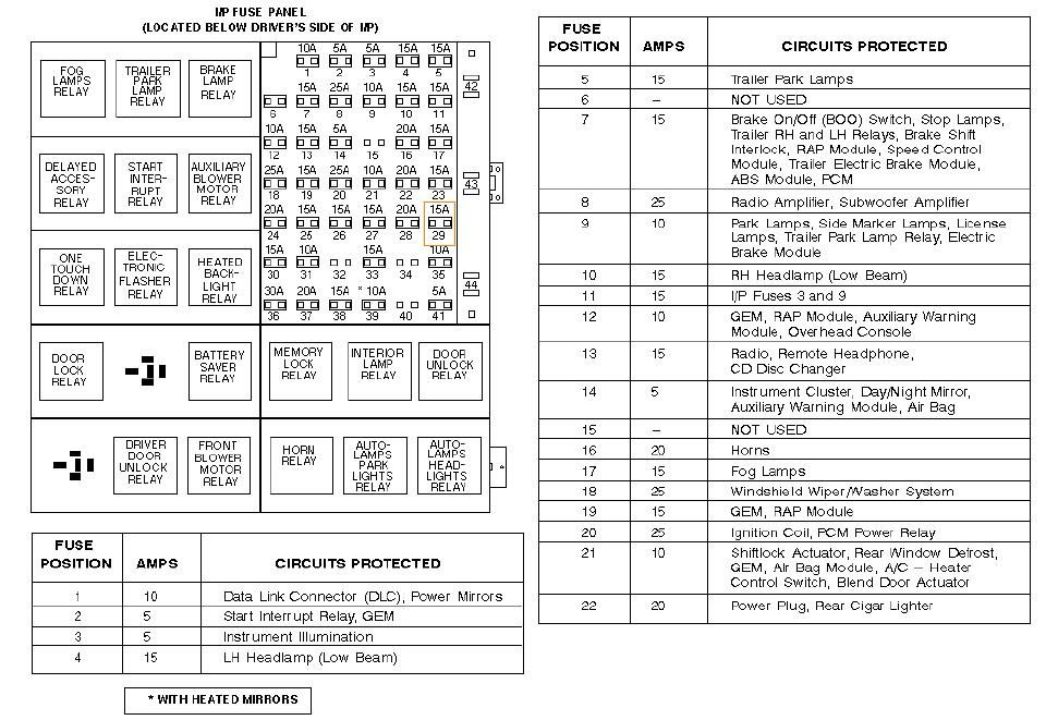 Wiring Window Power Windstar Switch Diagram2001ford