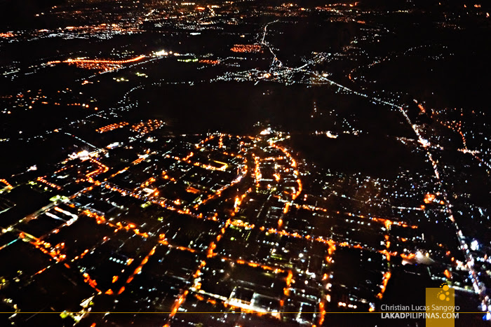 Metro Manila Evening from the Sky