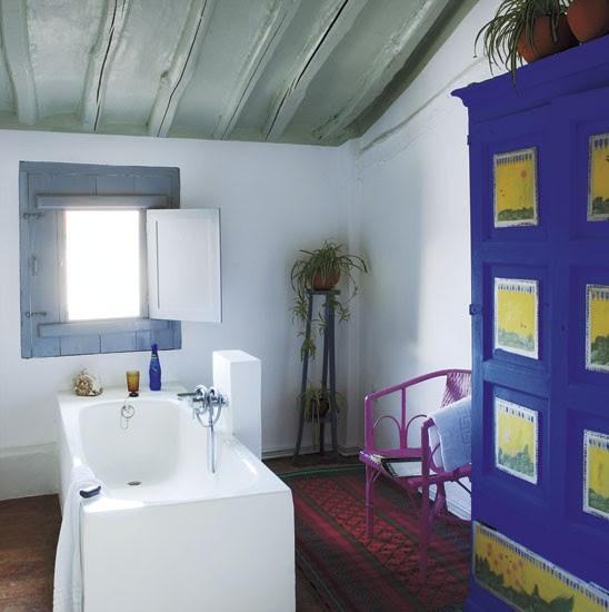 Bathroom   Spanish townhouse tour   PHOTO GALLERY   House Tour   Livingetc