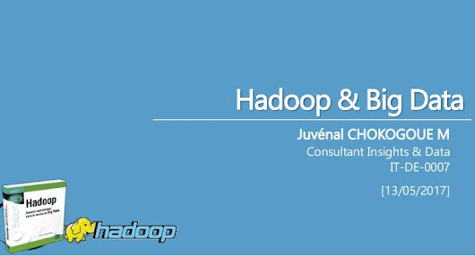 Hadoop et le big data