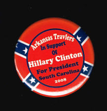 hillary arkansas pin confederate