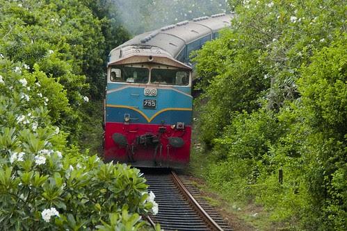 Ruhunu Kumari Express Train