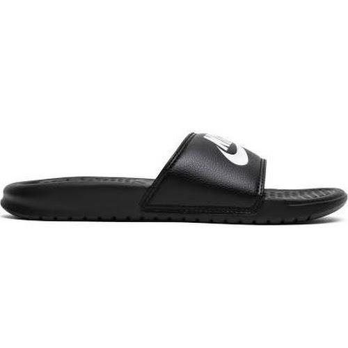 pretty nice 18466 9808b Nike Benassi JDI Slide - Mens Black White Size 6