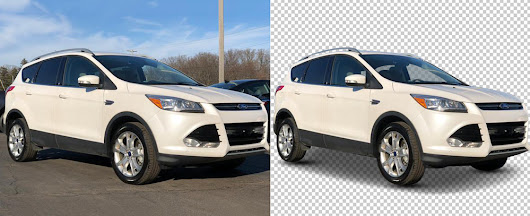 Car Background Removal & Replacement , Car Image Enhancements Service Provider