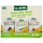 Sensible Foods Crunch Dried Snacks Sweet Corn Variety Pack | 20 Ct.