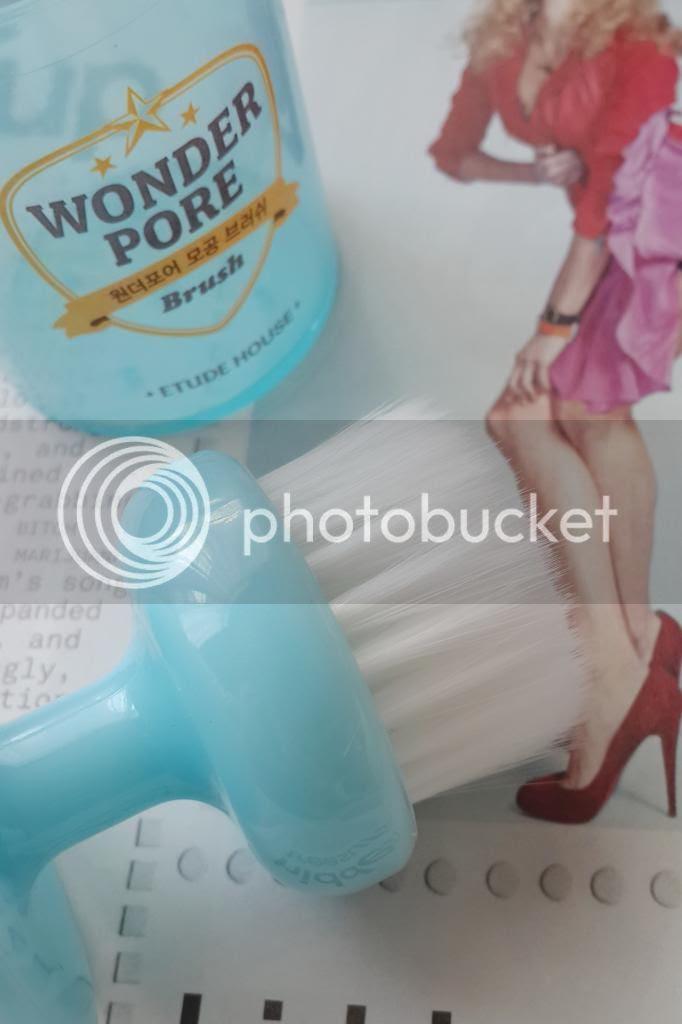 etude house wonder pore brush review