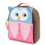 Dabbawalla Harness Backpack - Hoot Owl