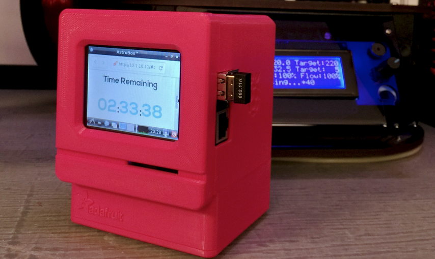 Turn Your Mac Pi into a 3D Print Monitor