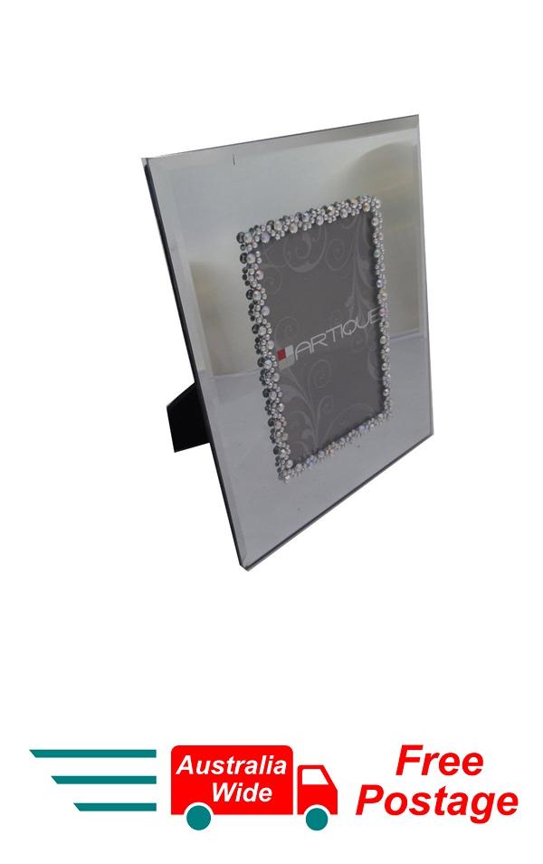 Photo Frame Artique Silver Mirror Frame 35 X 5 As Is K O G Direct