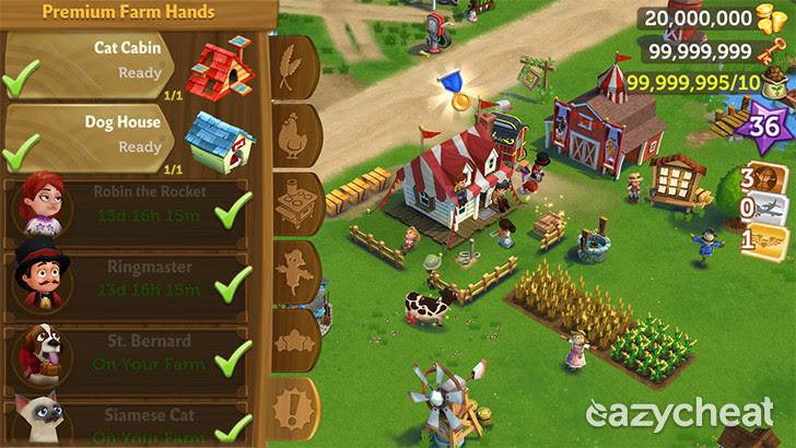 FarmVille 2: Country Escape v5.0.922 Cheats
