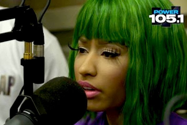 The Breakfast Club (4/4/12), Nicki Minaj
