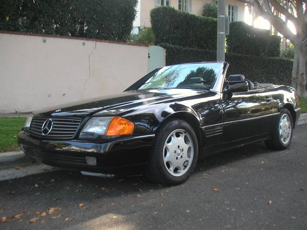 $7K 5-Speed: 1990 Mercedes Benz 300SL | Bring a Trailer