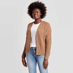 Women's Open Layering Cardigan - Universal Thread Tan