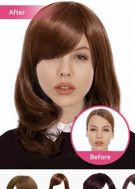 Hairstyle Changer Photo Editor Online Hairstyle Guides