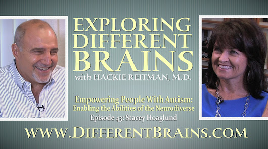 Empowering People With Autism: Enabling the Abilities of the Neurodiverse with Stacey Hoaglund | EDB 43 - DIFFERENT BRAINS
