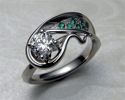 Very Unusual Organic Free Form Ring ? Metamorphosis Jewelry