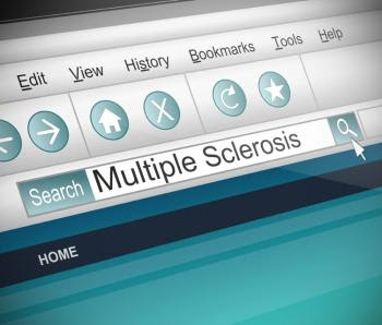 Internet search for multiple sclerosis.