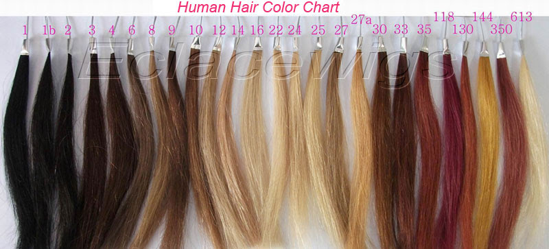 Human  hair  color  chart Hair  Color  Chart