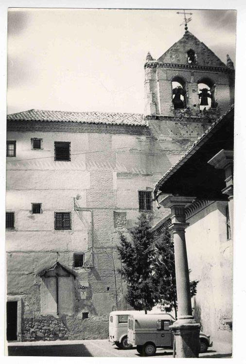 Convento de Santo Domingo el Real hacia 1970. Colección Luis Alba. Ayuntamiento de Toledo