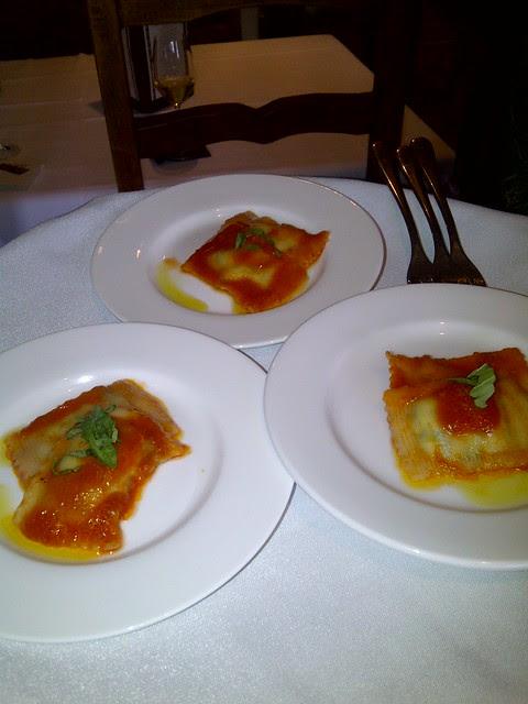 Spinach & Ricotta Ravioli 3