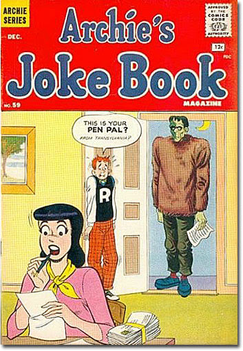 Archie's Joke Book #59