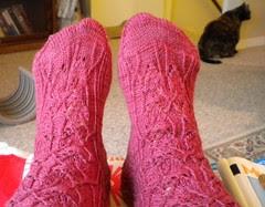 Bougainvillea socks