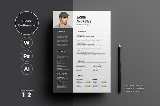 Download Cv Resume Mockup Yellowimages