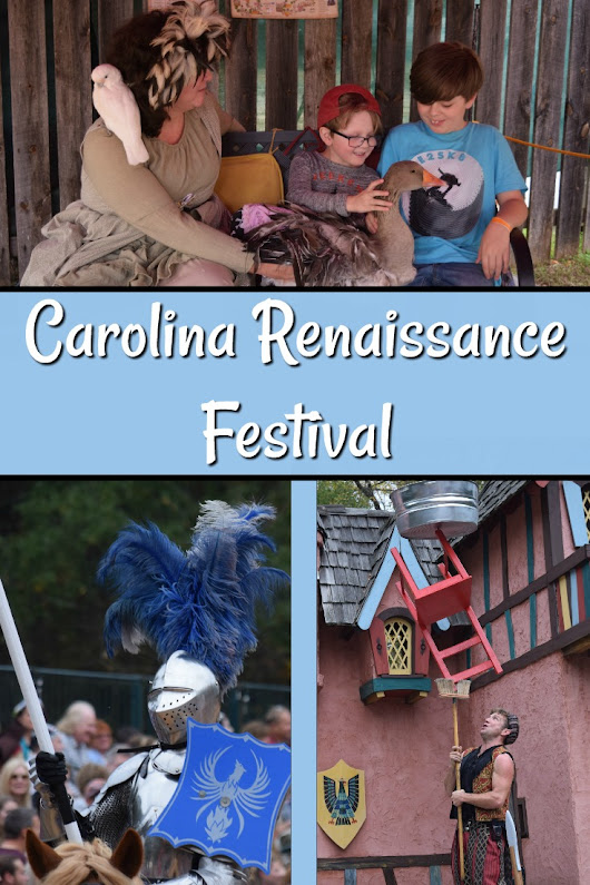 Spending the Day at the Carolina Renaissance Festival