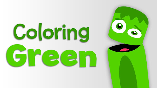 BabyFirstTV Color Crew Learn Colors Green 2