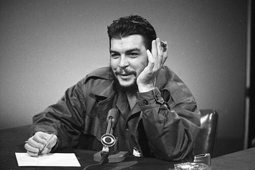 """Che Guevara, Argentine-Cuban Revolutionary Speaks to CBS-TV's """"Meet the Press"""" on December 13, 1964 (AP Photo). by Pan-African News Wire Photo File"""