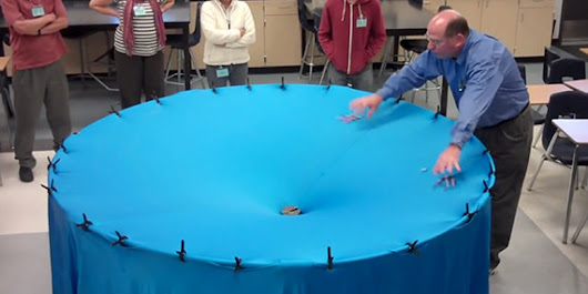 WATCH: Awesome Teacher Has Amazing Way Of Explaining Gravity