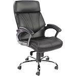 Black Vinyl High Back Executive Management Chair