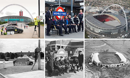 Wembley then and now PICTURE SPECIAL