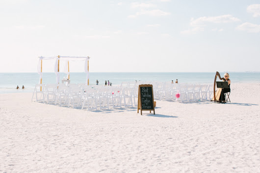 Destination Beach Wedding in St. Petersburg, Florida - MarryMeTampaBay