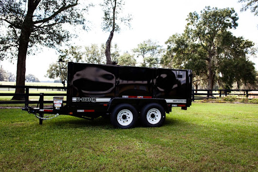 14' 14K High Side Dump Trailer