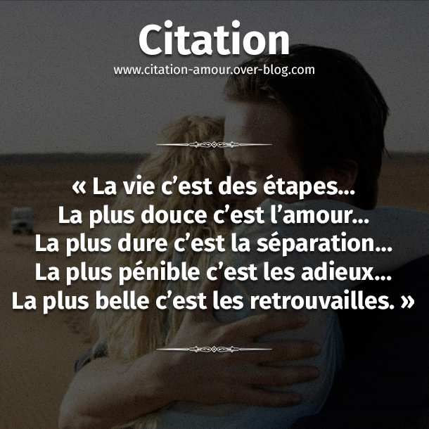 Citation rencontrer le grand amour