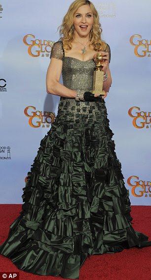 Ladylike em 2012: Madonna no Globo de Ouro