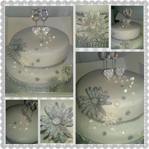 60th wedding anniverary cake     60th wedding