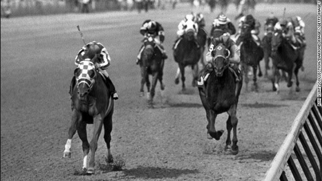 Image result for Secretariat wins Triple Crown images