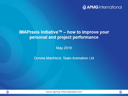 iMAPraxis Initiative™ – how to improve your personal and project performance